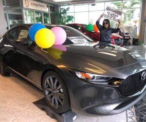 Mazda 3 hatch back
